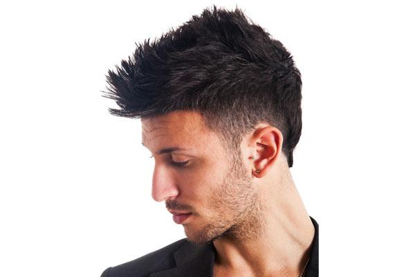 Undercut with SpikesUndercut Mohawk Hairstyle