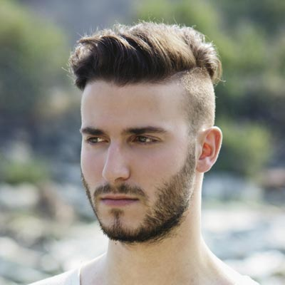 Mens Haircuts 2014 With Beards Undercut for men with a beard