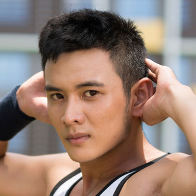 ... out these pictures for the best hairstyles for round faces for men