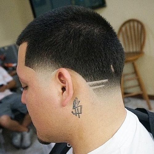 Line Designs In Haircuts Images Haircuts For Men And Women