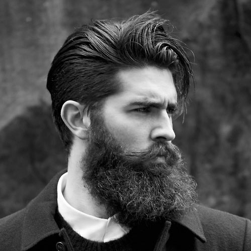 Beard with Slick Hair Chris John Millington Chris John Millington: How to grow a full beard