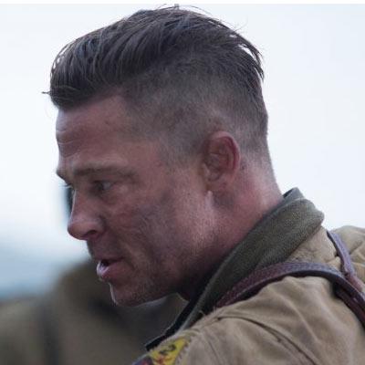 The Brad Pitt Fury Hai...