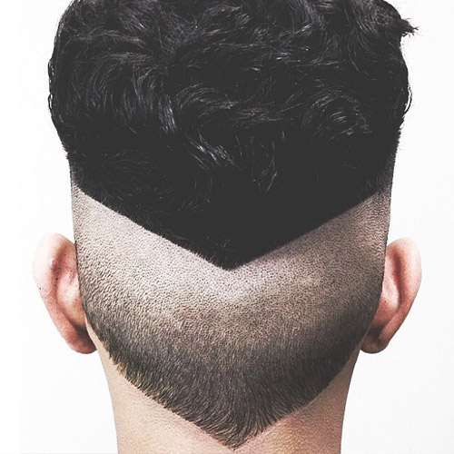 Undercut Line Designs Men