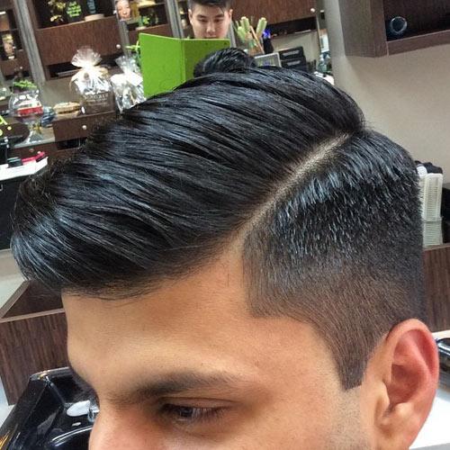Comb Over Hairstyles Men 2015