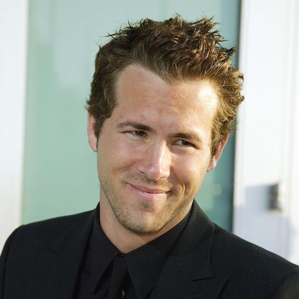 ryan reynolds hairstyle : Ryan Reynolds Hairline Top 25 mens messy hairstyles - celebrity