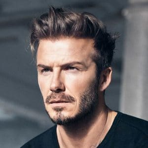Cool Men's Hairstyles To Try In 2015: David Beckham