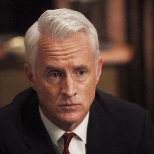 male pattern baldness hairstyles : Roger Sterling Haircut Short On Sides Mad men hairstyles