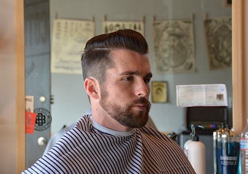 Barber-Brian-Burt-Slicked-Back-Hair-Beard-