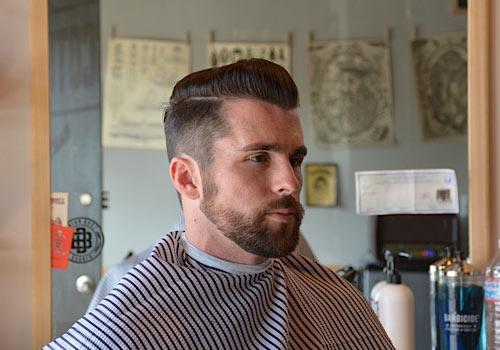 Strange Beard Grooming Plus Fresh Cuts By Barber Brian Burt Short Hairstyles For Black Women Fulllsitofus