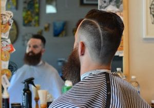 Barber Brian Burt: Before and After Men's Haircuts