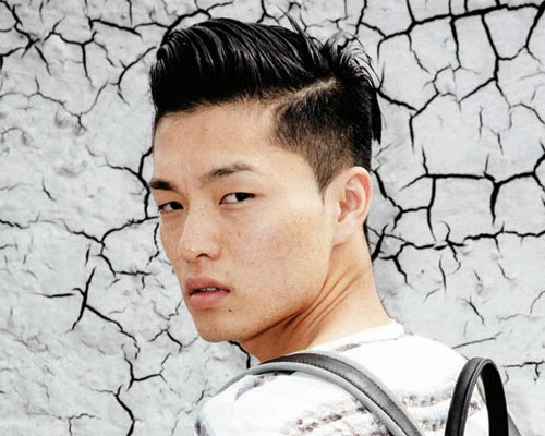 Different Hairstyles For Asian Men Satoshi Toda - Cool hairstyle asian