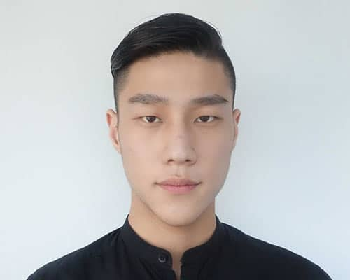 Cool Undercut Hairstyles For Men Medium Hair - Undercut hairstyle front view