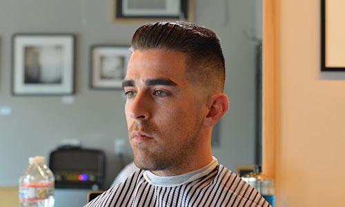 3 Vintage Slick Pompadour Styles Barber Brian Burt