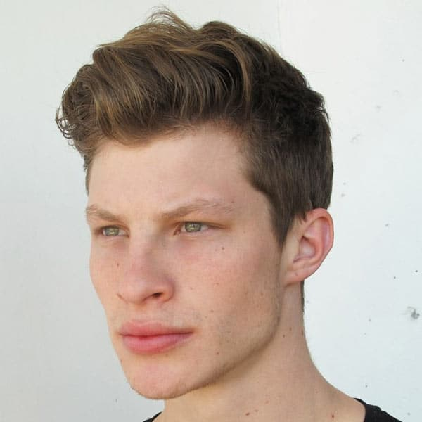 Easy Men s Hairstyles Long Top Short Sides