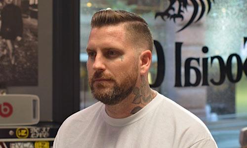Magnificent Shaved Part Hair Designs Barber Brian Burt Short Hairstyles Gunalazisus