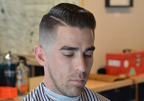 Awesome 3 Vintage Slick Pompadour Styles Barber Brian Burt Hairstyle Inspiration Daily Dogsangcom