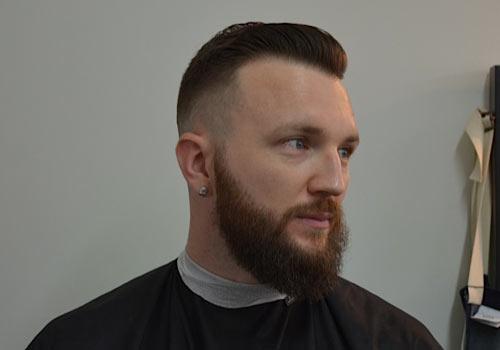 Taper-Fade-with-Beard-Barber-Brian-Burt