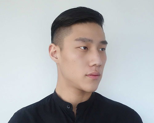 Galerry undercut hairstyle long on top