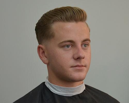 Sensational 3 Vintage Slick Pompadour Styles Barber Brian Burt Short Hairstyles For Black Women Fulllsitofus