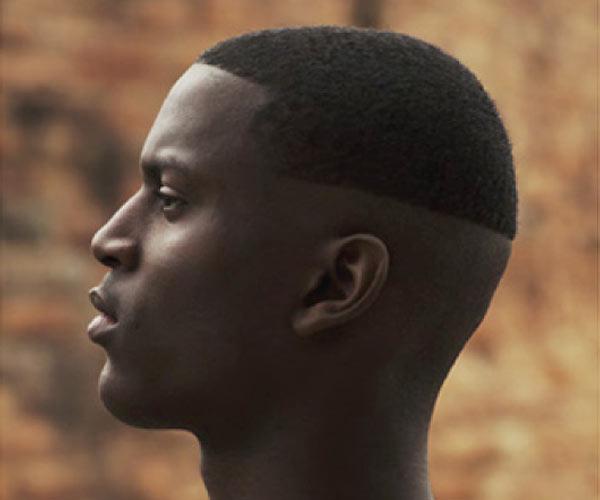 black hair magazine man style