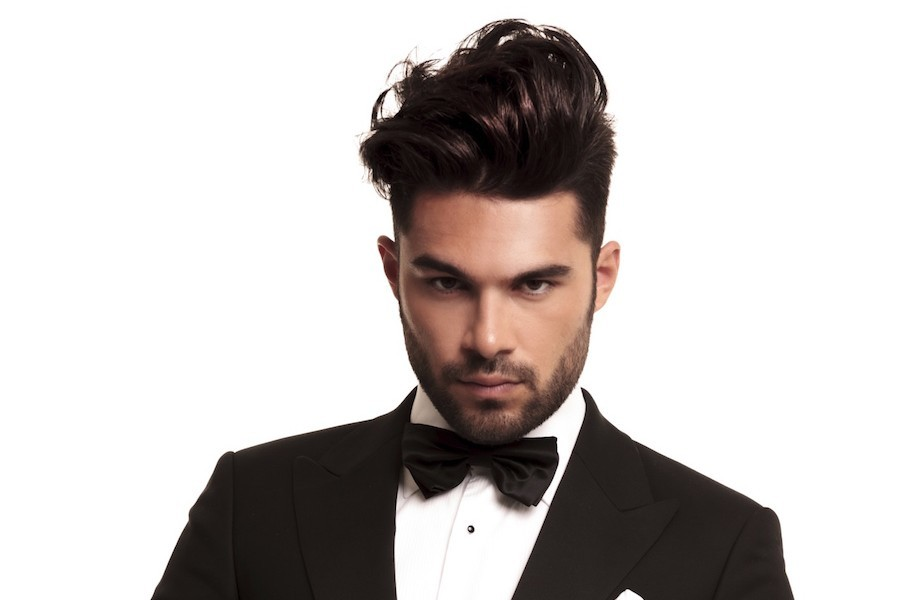 Cool Men s Hairstyles Short Sides Long Top