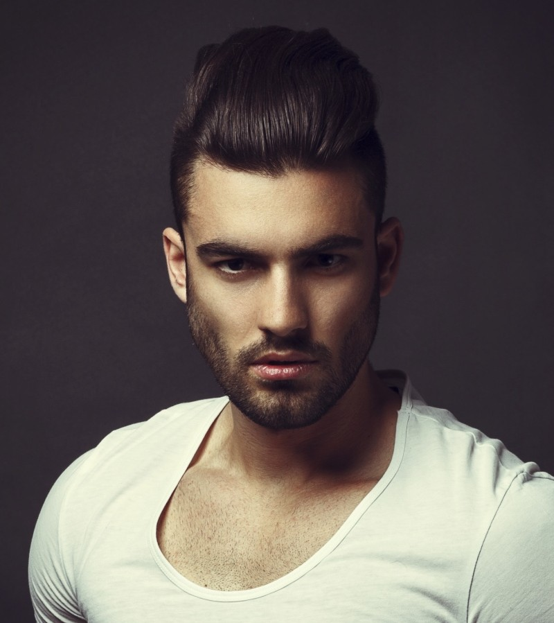 Admirable Cool Men39S Hairstyles Short Sides Long Top Short Hairstyles Gunalazisus