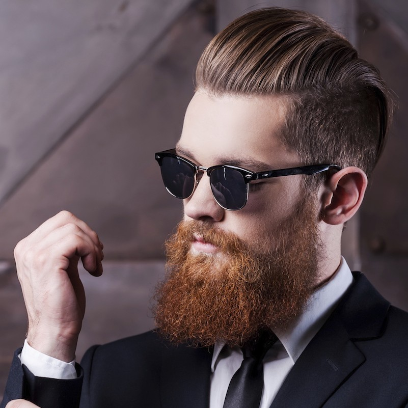new mens hairstyles with beards
