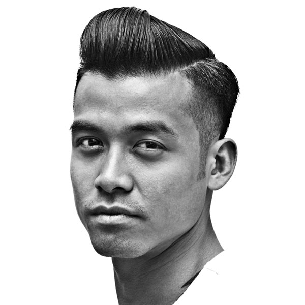 Pomade Hairstyles cool choosing the right pomade accordance hairstyles with thick hair This New Hairstyle For Men Starts The Fade Almost At The Side Part The Cool Effect Leaves Short Hair That Could Stick Up So Be Sure To Work Some Pomade