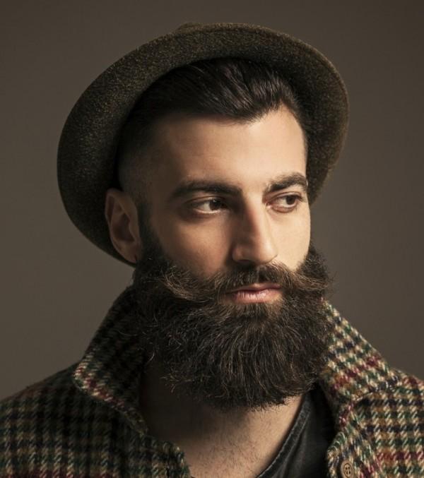 Image Gallery handlebar moustache and beard