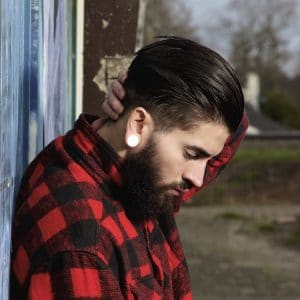 3 Cool Men's Hairstyles With Beards