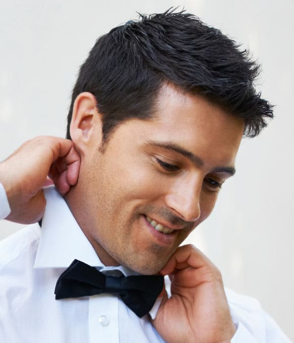 Good Hairstyles For Men To Wear At Weddings