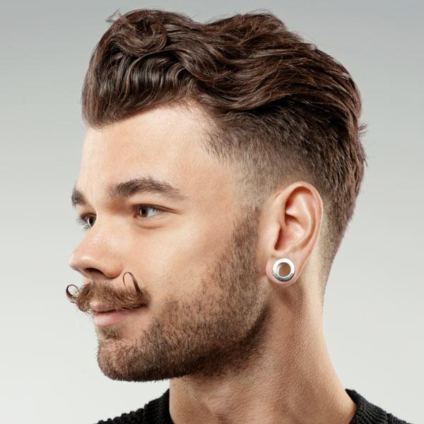 Astonishing Wavy Hair Hairstyles For Men Short Hairstyles Gunalazisus