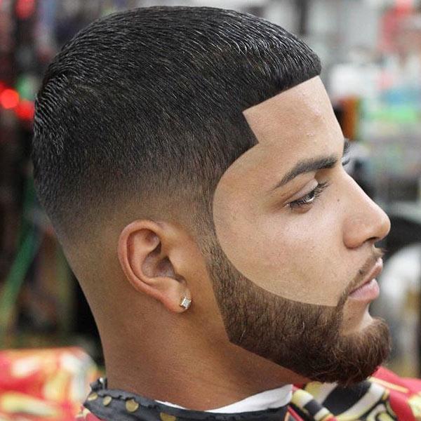 Low-Fade-Line-Up-Edge-Up-Beard-Luis-Fontanez