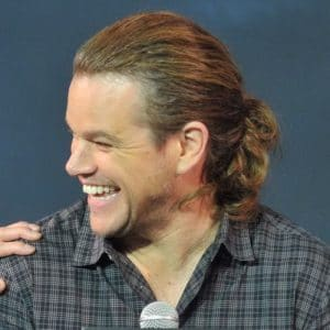 The Matt Damon Ponytail