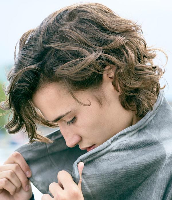 Medium Curly Hair For Men Robin Bharaj