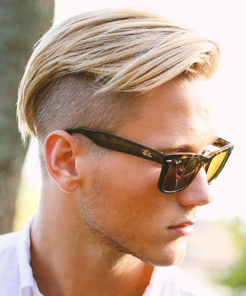 Long Hair With Shaved Sides 102