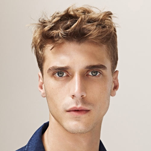 Mens Short Hairstyles 2015 in modern years it looks like pretty much everything goes when it comes to mens haircuts Short Messy Styles For Men Source