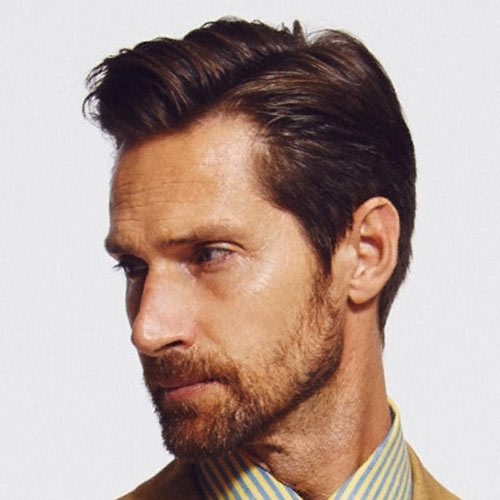 Side Hairstyles For Men With Beard Kiton