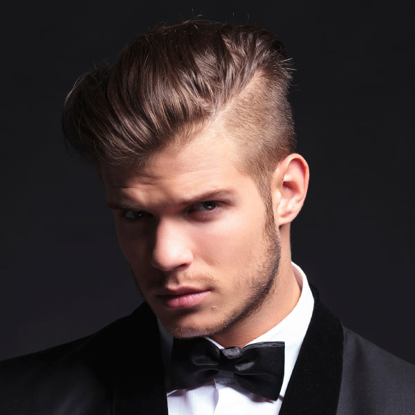 Good Hairstyles Men Wear Weddings