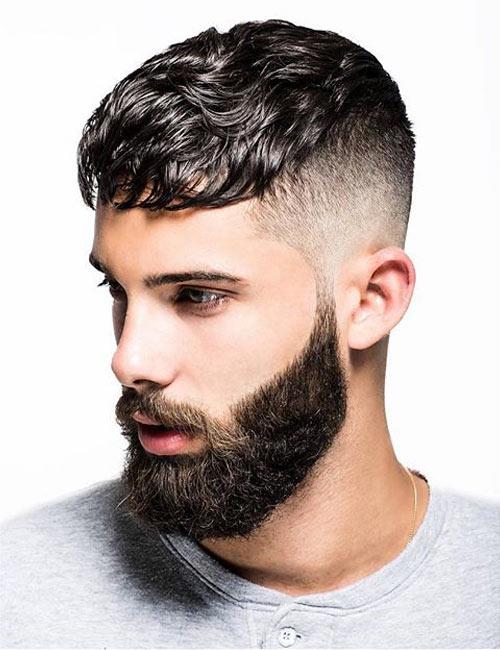 Strange Wavy Hair Hairstyles For Men Short Hairstyles Gunalazisus