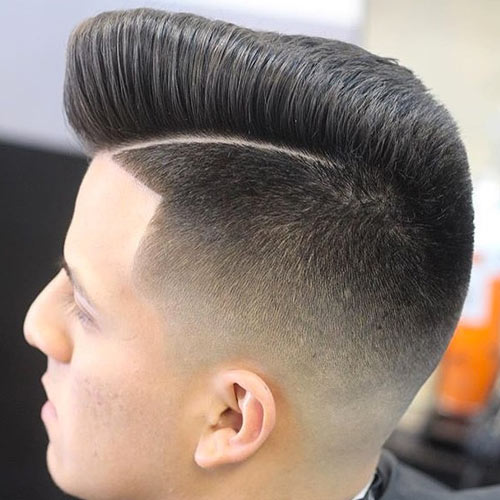 Low Fade with Razor Part. @mr_fineline
