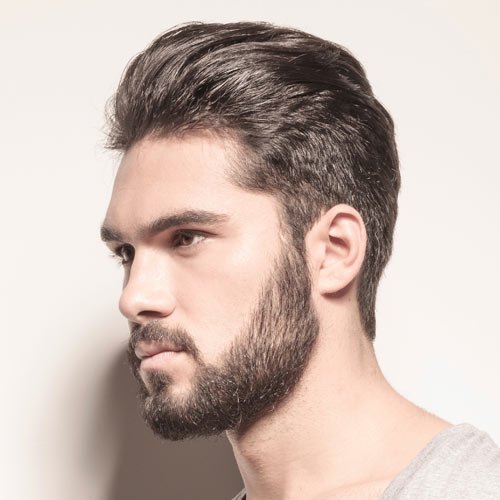 Beard-with-Slick-Hair-
