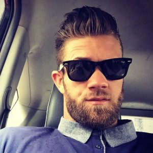 5 Bryce Harper Haircuts and Beards