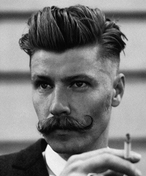 Handlebar-Mustache-Retro-Hair-