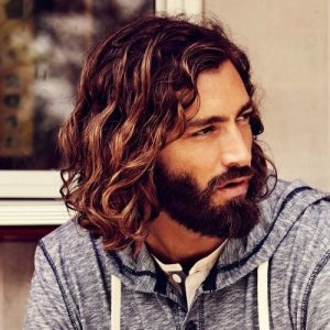How to Grow Long Curly Hair for Men