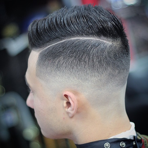 joeybwood_AND__bald fade with a fine hard part
