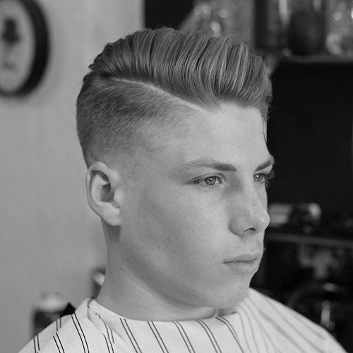 kieronthebarber_AND_fade with pomp