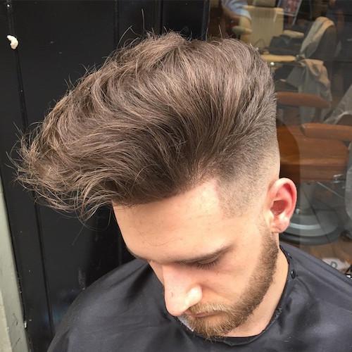 menspiresalon_AND_big longer hair on top very natural bald to hi fade