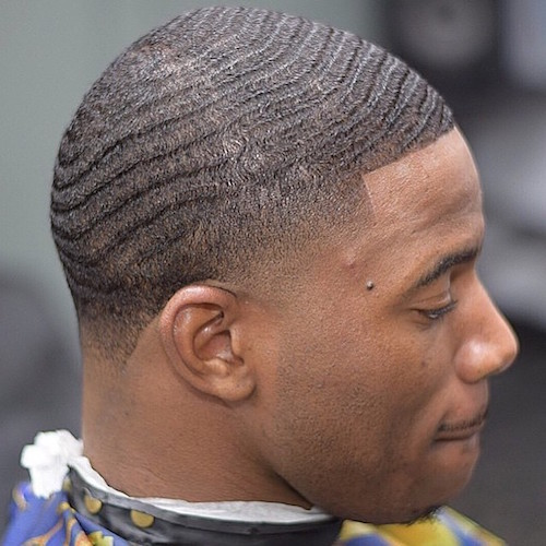 kennybean_haircuts Low Fade + Waves
