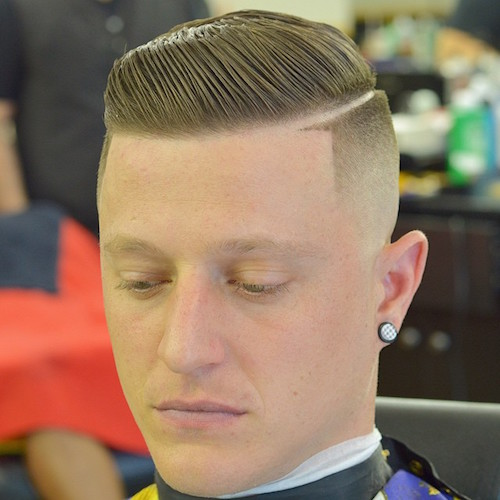 zeke_the_barber_AND_Another_one_of_my_favorite_cuts_Bald_Fade_with_a_Hard_part